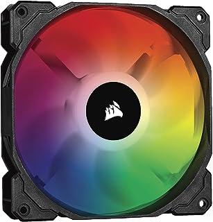 Corsair iCUE SP140 RGB PRO, 140mm RGB LED (Geräuscharm, hoher Luftdurchsatz, Gehäuse Kühlung Lüfter, Einzelverpackung) Schwarz