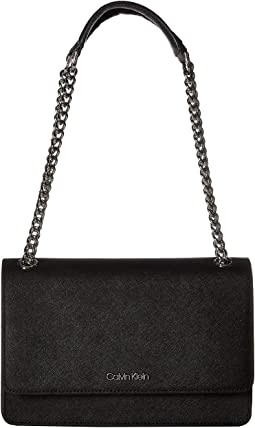 Hayden Saffiano Leather Shoulder Bag