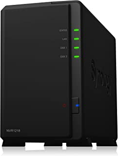 Synology Network Video Recorder NVR1218 4 Channel, Black, NVR1218