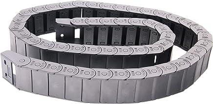 Xigeapg 1 m 18 x 25 mm Halboffene Art Drahttraeger Schleppkette Kunststoff Schleppleine