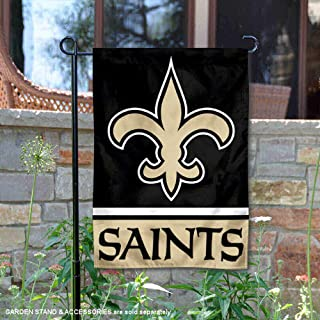 WinCraft New Orleans Saints Double Sided Garden Flag