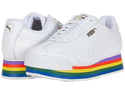 PUMA Roma Amor Rainbow (Puma White/Puma White) Women
