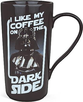 Preisvergleich für Star Wars Darth Vader Tasse XXL Kaffee Becher lizenziert Keramik 450ml schwarz