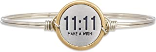 11:11 Make A Wish Bangle Bracelet for Women Made in USA