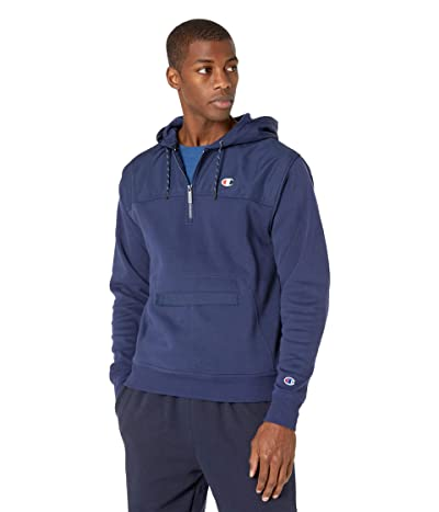 Champion Urban Fleece Hoodie (Athletic Navy) Men
