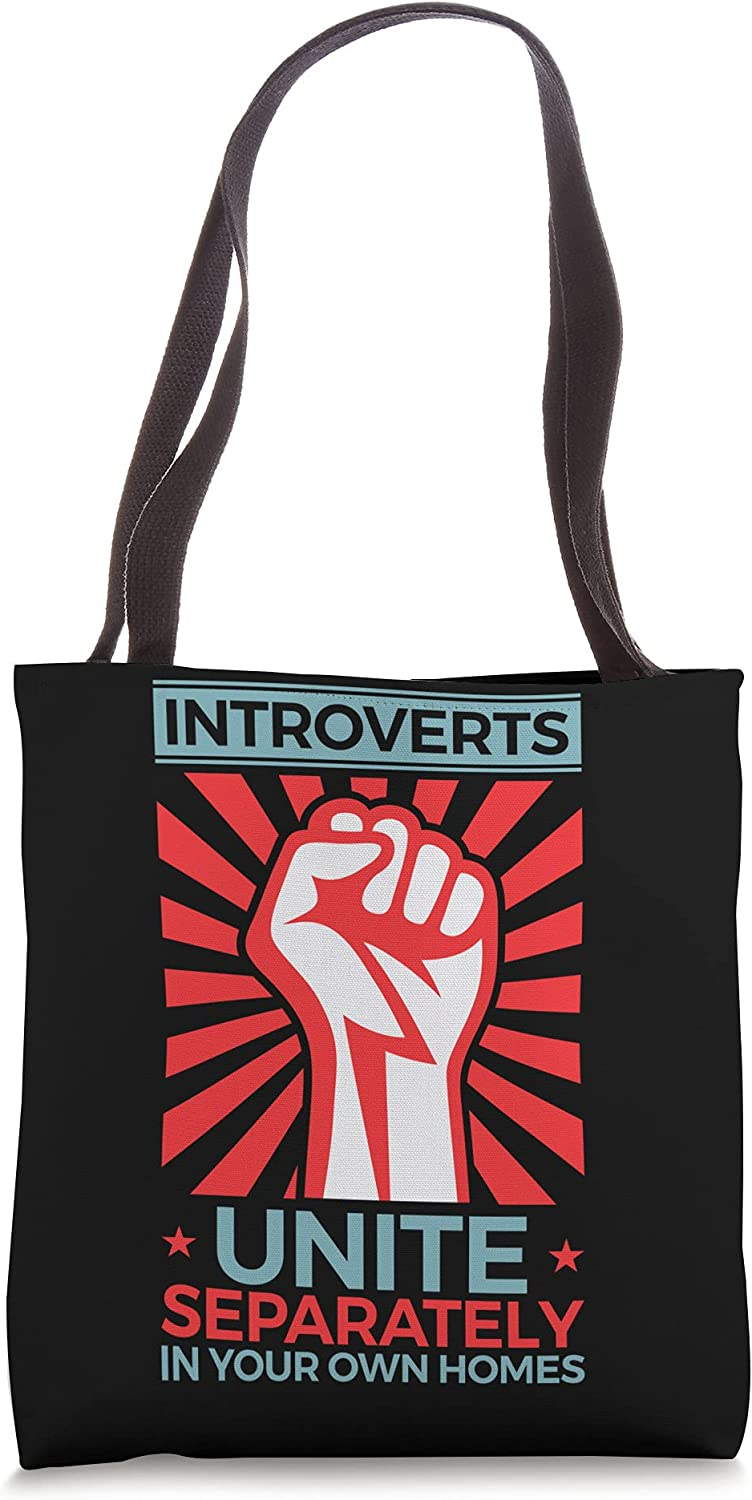 Antisocial Max 54% OFF Introverts Unite Separately in Your Ba Tote Ranking TOP10 Homes Own