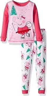 Peppa Pig Girls' Toddler Ice Skating 2 Piece Cotton Set