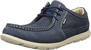Woodland Men's Gc 2917118_Navy Leather Clogs-8 UK (42 EU) (9 US) 2917118NAVY