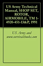 US Army Technical Manual, SHOP SET, ROTOR, AIRMOBILE, TM 1-4920-451-13&P, 1991