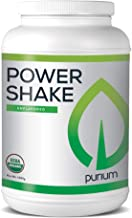 Purium Power Shake - Unflavored - 1065 Grams - Vegan Meal Replacement Powder, Protein, Vitamins & Minerals - Certified USDA Organic, Gluten Free, Kosher - 30 Servings