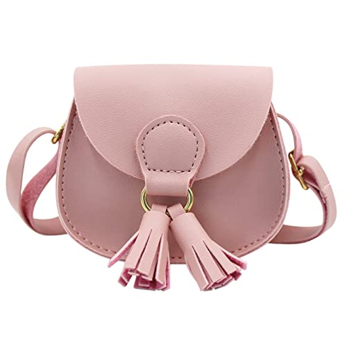 bea58faf609c Kids Girls Toddler Mini Shoulder Purse Crossbody Bag with Tassel