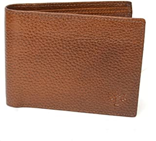 Woodland Tan Leather For Men - Bifold Wallets
