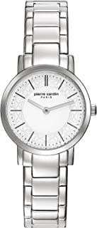 Pierre Cardin Womens Quartz Watch, Analog Display and Stainless Steel Strap PC108112F04