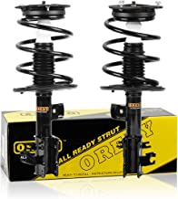 OREDY Front Pair Complete Struts Shocks Coil Spring Assembly Kit Compatible with Nissan Altima 4CYL 2.5L W/ABS 2007 2008 2009 2010 2011 2012#172392 172393 11612 1331839L ST8574L ST8574R