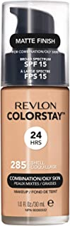 Revlon ColorStay Liquid Foundation For Combination/oily Skin, SPF 15 Shell, 1 Fl Oz