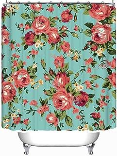 YOLIYANA Shabby Chic Granny Chic Vintage Chintz Shower Curtain okjeff Shower Curtain 71''Long x 59''Wide