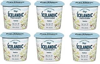 Icelandic Provisions, Skyr Vanilla Yogurt (Pack of 6)