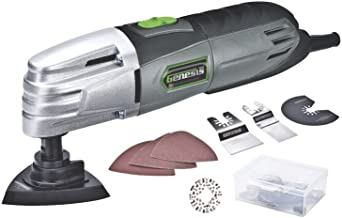 Genesis GMT15A 1.5 Amp Multi-Purpose Oscillating Tool and 19-Piece Universal..