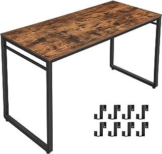 VASAGLE ALINRU Computer Desk, 55 Inch Writing Desk,...