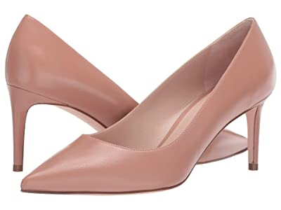 Stuart Weitzman Leigh 70mm Pump (Toasted Blush Dress Nappa) Women