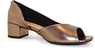 Hype Women's Side Cut Peep Toe Sandal ZD10936 (Valentina)