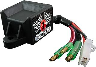 CDI deportivo//tuning para motores Piaggio de 2 tiempos de 50 cc a partir del a/ño de fabricaci/ón 2003 abierto//sin estrangular.