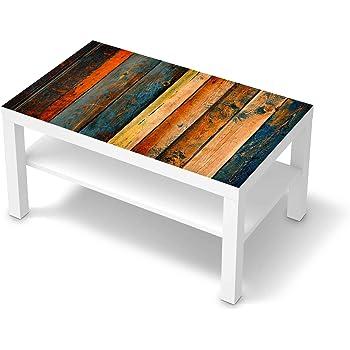 creatisto Klebe Folie Möbel passend für IKEA Lack Tisch 90x55 cm I Möbelfolie Möbel Folie Tattoo Sticker I Schöner Wohnen für Schlafzimmer und