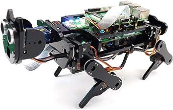 Freenove Robot Dog Kit for Raspberry Pi 4 B 3 B+ B A+, Walking, Self Balancing, Ball Tracing, Face Recognition, Live Video...