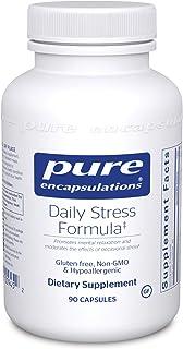 Pure Encapsulations - Daily Stress Formula - Hypoallergenic Stress Defense Formula - 90 Capsules