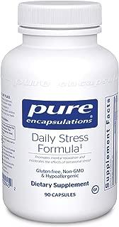 Pure Encapsulations - Daily Stress Formula - Hypoallergenic Stress Defense Formula* - 90 Capsules
