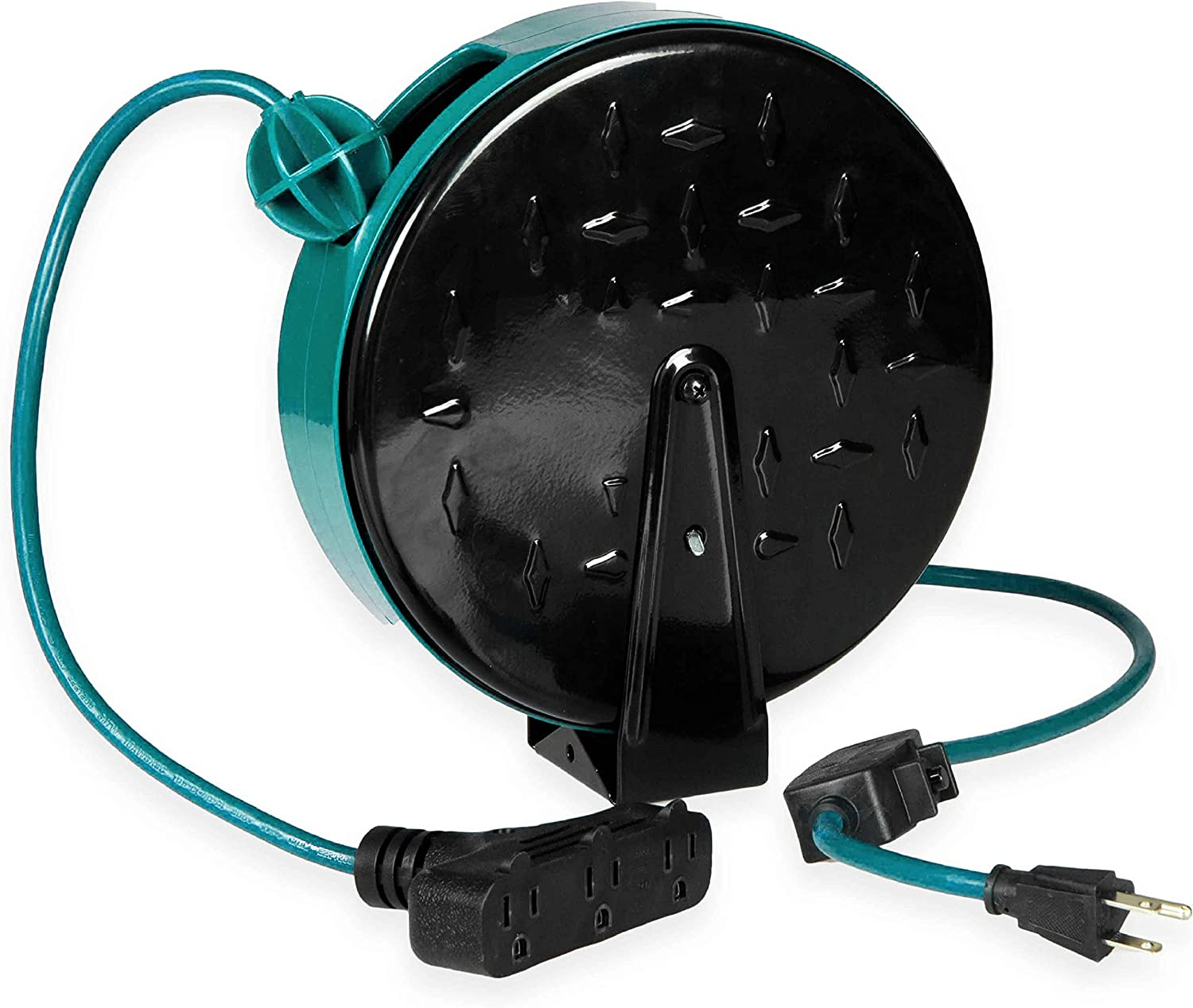 Retractable San Diego Mall Extension Cord Reel 30 2021 autumn and winter new Ft 3 with Outlets Breaker