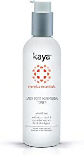 Kaya Clinic Daily Pore Minimising Toner, Face toner with Witch Hazel extracts for minimised and clean pores, 200 ml