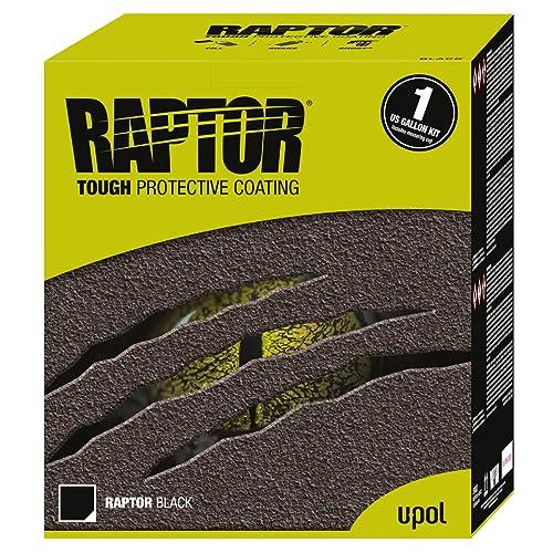 U-Pol Products RAPTOR Black Truck Bed Liner Kit - 1 Gallon kit