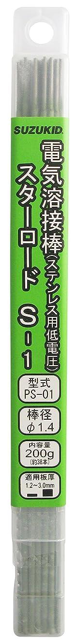 知人聡明意志に反するスズキッド(SUZUKID) S-1 1.4φ*230mm 200g PS-01