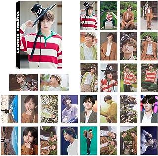 Sportstorm Kpop BTS Map of the Soul 7 Transparent LOMO carte PVC Photo Photocards Lomo carte autocollant carte postale ensemble cadeau pour A.R.M.Y 8pcs