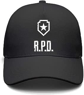 Slimerland Unisex Resident-Evil-R.P.D- Snapback Hat Sports Cap Punk Hip-hop caps
