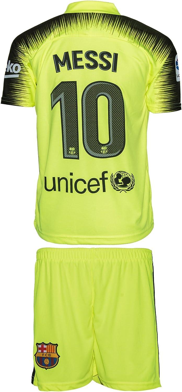 Barcelona Messi  10 2018 19 Auswärts Dritte Trikot Trikot Trikot und Shorts Kinder und Jugend Größe B07HFCRSNL  Jugend überschwemmen 0eff0e