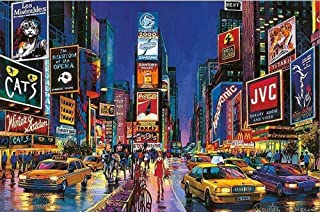Jigsaw Puzzle New York Times Square Jigsaw Puzzles The Wooden Puzzle 1000 Piece Kids Puzzles Toys Educational Puzzles Jigsaw