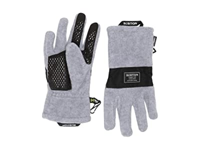 Burton Kids Ember Fleece Gloves (Little Kids/Big Kids) (Gray Heather 2) Extreme Cold Weather Gloves