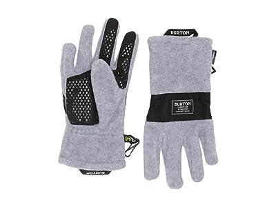 Burton Kids Ember Fleece Gloves (Little Kids/Big Kids) (Gray Heather 2) Extreme Cold Weather Gloves
