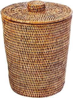Best wicker waste paper baskets with lids Reviews