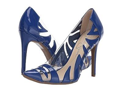 Jessica Simpson Palmra (Blue/Violet Super Patent) Women