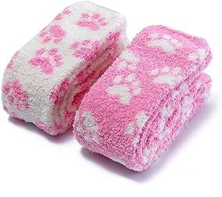 LittleForBig, 2 pares de calcetines de forro polar de coral
