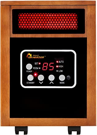 featured product Dr Infrared Heater Portable Space Heater,  1500-Watt