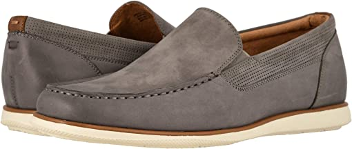 Gray Nubuck w/ White Sole