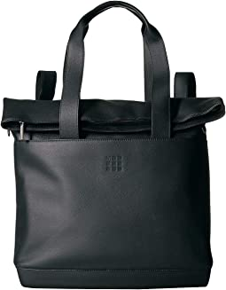 Classic Leather Weekender Tote Bag