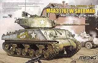 Meng 1/35 U.S. Medium Tank M4A3 (76) W TS-043