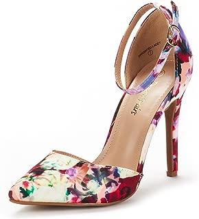 Best red floral print heels Reviews