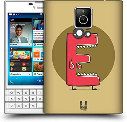 Head Case Designs Razor E Alphabet Monster Hard Back Case Compatible for BlackBerry Passport