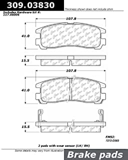 103.03830 Brake Pad Ceramic Centric